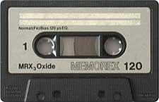 memorex_mrx3_oxide_120_080417 audio cassette tape