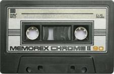 memorexchromeii audio cassette tape