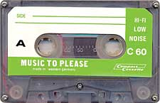 music_to_please_071201 audio cassette tape