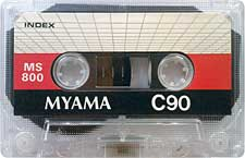 myama_ms800_c90_081001 audio cassette tape