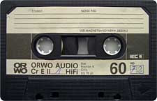 orwo_cr_e_ii_60 audio cassette tape