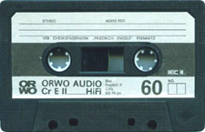 orwo_cre_ii_60_090811 audio cassette tape