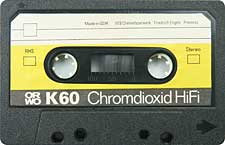 orwo_k60 audio cassette tape