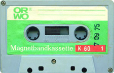 orwo_k60_090811 audio cassette tape