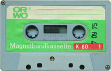 orwo_k_60_1_1975 audio cassette tape