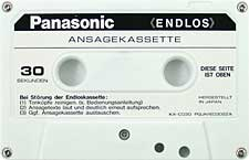 panasonic_endlos_30sec_080417 audio cassette tape