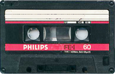 philips audio cassette tape