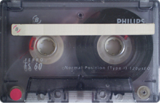 phillips-60 audio cassette tape