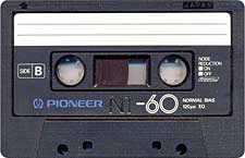 pioneer_n1_c60_071126 audio cassette tape