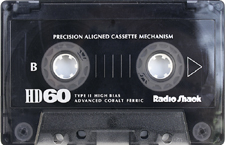 radioshack_hd60 audio cassette tape