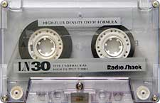 radioshack_ln30_080417 audio cassette tape