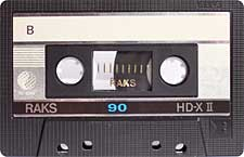 raks_hd-xii_90_071126 audio cassette tape