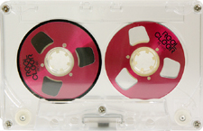 reel_cleer_rc60_red_081001 audio cassette tape
