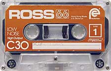 ross_66_c30_080417 audio cassette tape