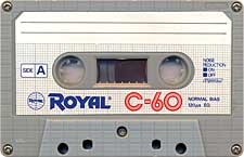royal_c60_071201 audio cassette tape