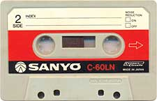 sanyo_c60_ln_071126 audio cassette tape
