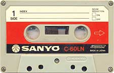sanyo_c60_ln_071201 audio cassette tape