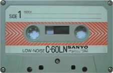 sanyo_ln_60__year_1977_aprox audio cassette tape