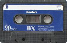 scotch_bx audio cassette tape
