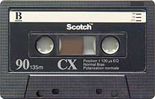 scotch_cx90_080417 audio cassette tape