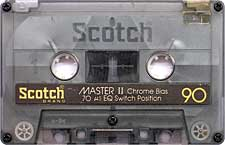 scotch_master_ii_90_071126 audio cassette tape