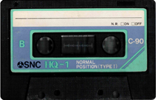 snc audio cassette tape