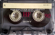 sony-hf-90 audio cassette tape