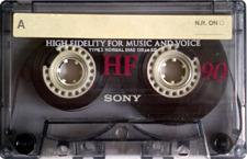 sony-hf-90 audio cassette tape