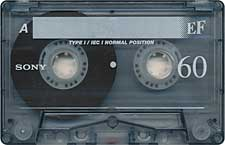 sony_EF_60_111227 audio cassette tape