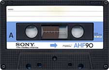 sony_ahf_080417 audio cassette tape