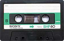 sony_bhf60_071126 audio cassette tape
