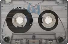 sony_cdit_ii_64_081001 audio cassette tape