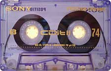 sony_cdit_ii_74_081001 audio cassette tape