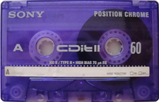 sony_cditii_60 audio cassette tape