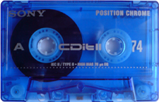 sony_cditii_74 audio cassette tape