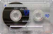 sony_ef_90_080417 audio cassette tape