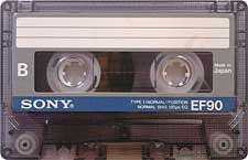 sony_ef_90_081001 audio cassette tape