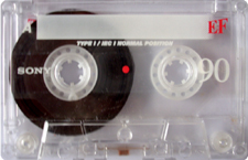 sony_ef_rot_90 audio cassette tape