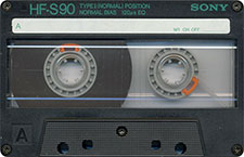 sony_hf-s_080417 audio cassette tape