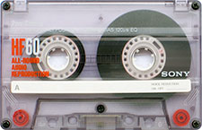 sony_hf60_071126 audio cassette tape