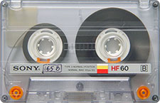 sony_hf60_080417 audio cassette tape