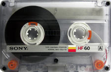 sony_hf60_080515 audio cassette tape