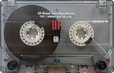 sony_hf_60_081001 audio cassette tape