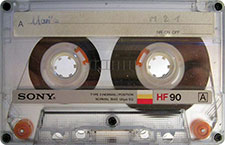 sony_hf_90_071126 audio cassette tape
