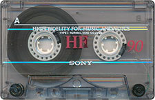 sony_hf_90_071201 audio cassette tape
