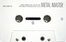 sony_metalmaster_60_111214 audio cassette tape