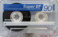 sony_super_ef_90_081001 audio cassette tape