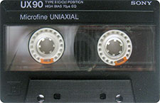 sony_ux90_071126 audio cassette tape