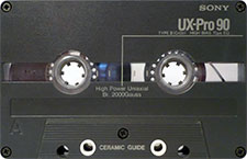 sony_ux_pro_90_081001 audio cassette tape