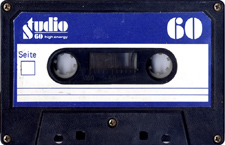 studio_60 audio cassette tape